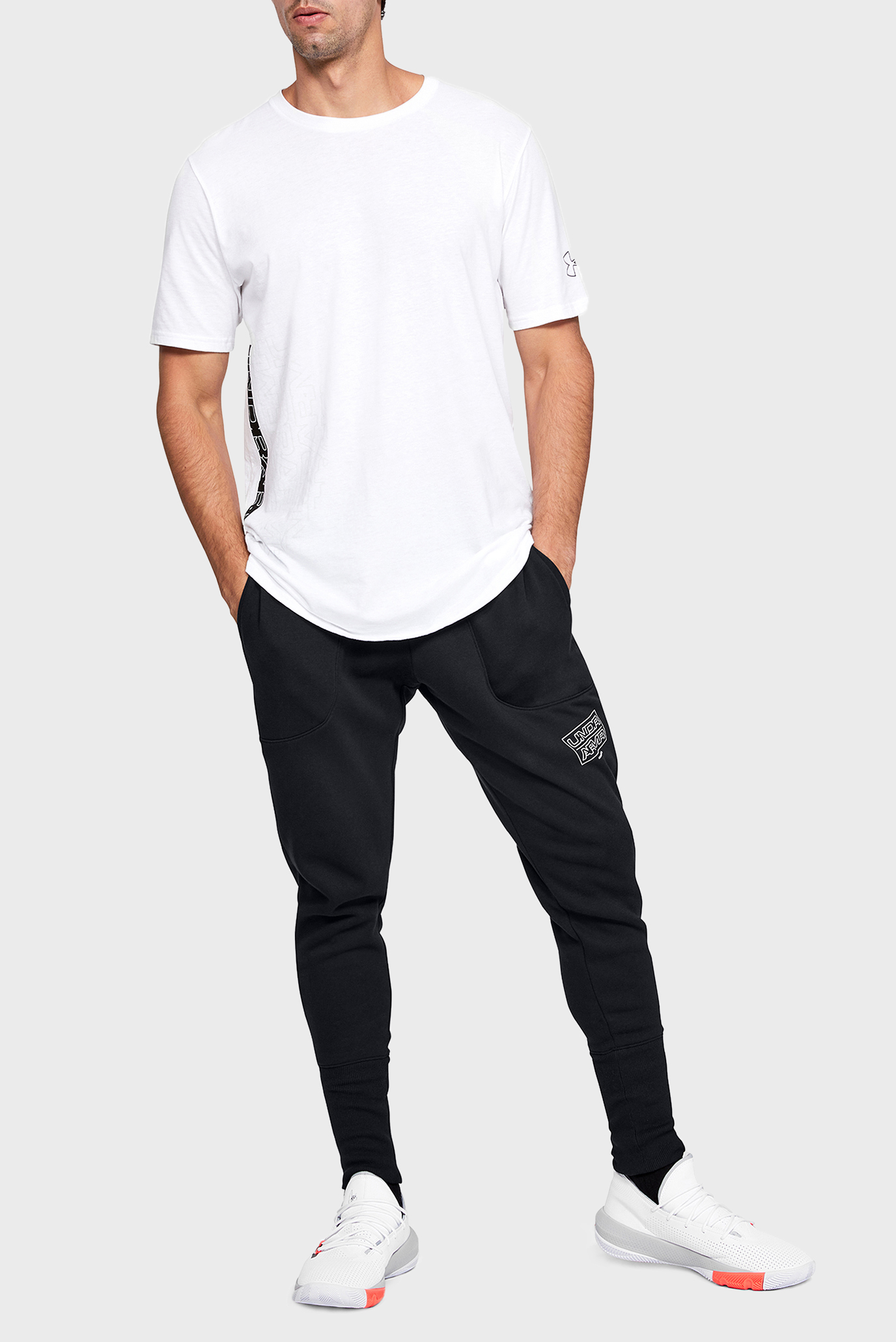 Мужские черные спортивные брюки UA BASELINE FLEECE JOGGER Under Armour