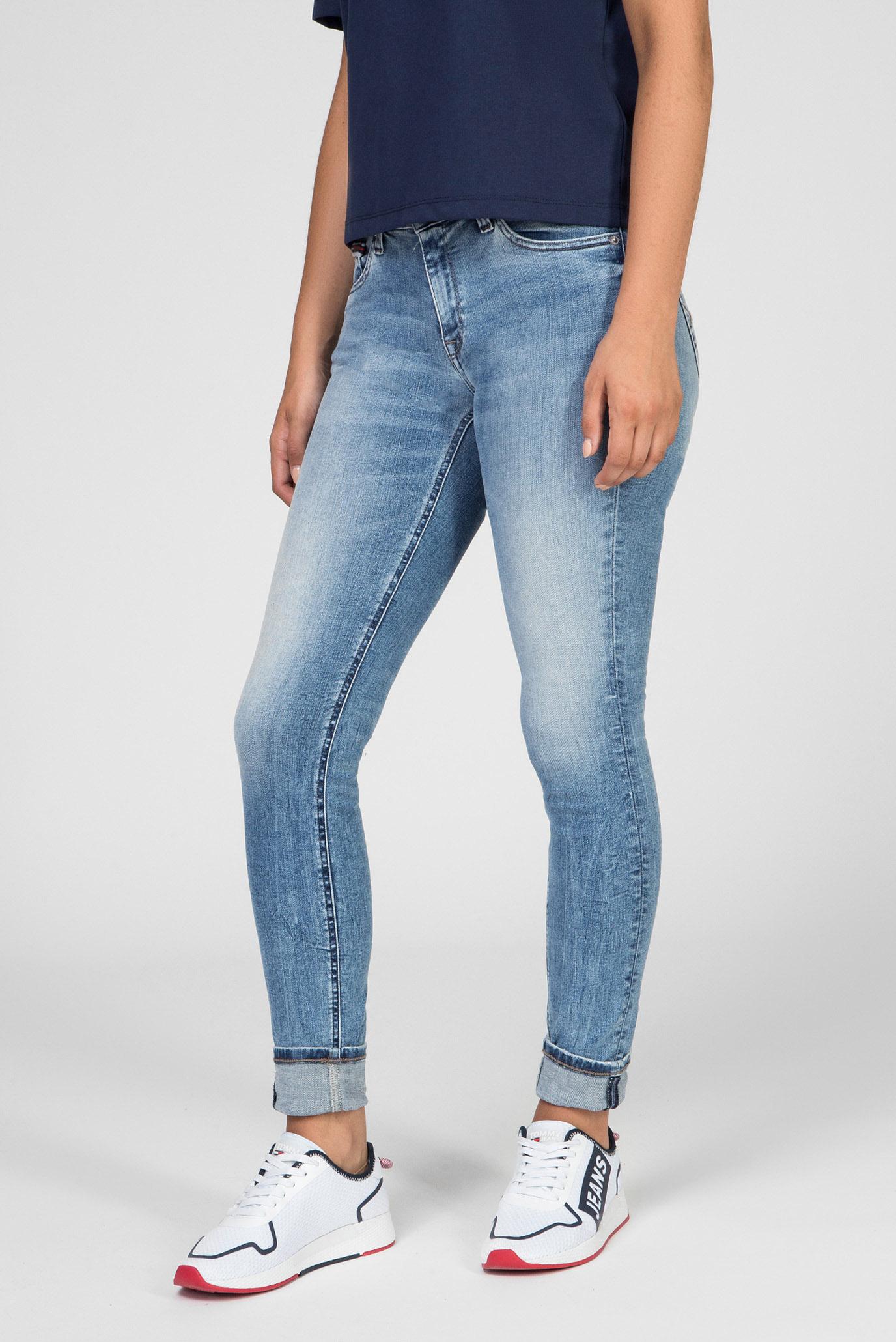 Женские голубые джинсы LOW RISE SKINNY SOPHIE ORL Tommy Hilfiger