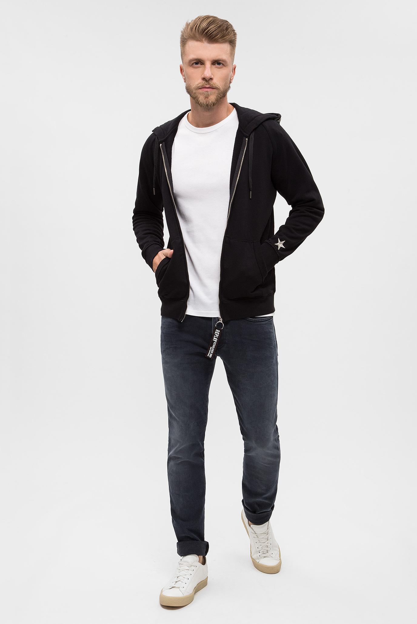 Купить Мужские серые джинсы ANBASS COIN ZIP Replay Replay MB914 .000.143 387 – Киев, Украина. Цены в интернет магазине MD Fashion