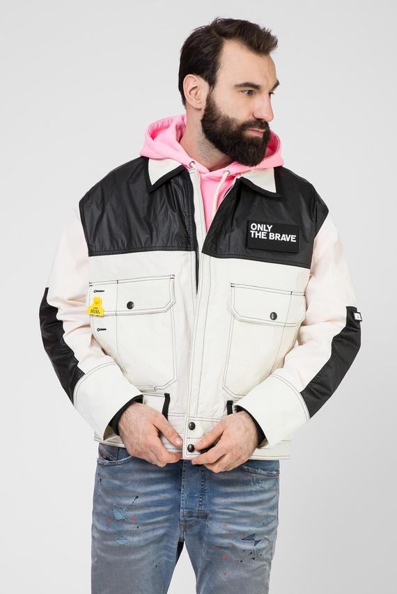 Мужская бежевая куртка J-KENDY