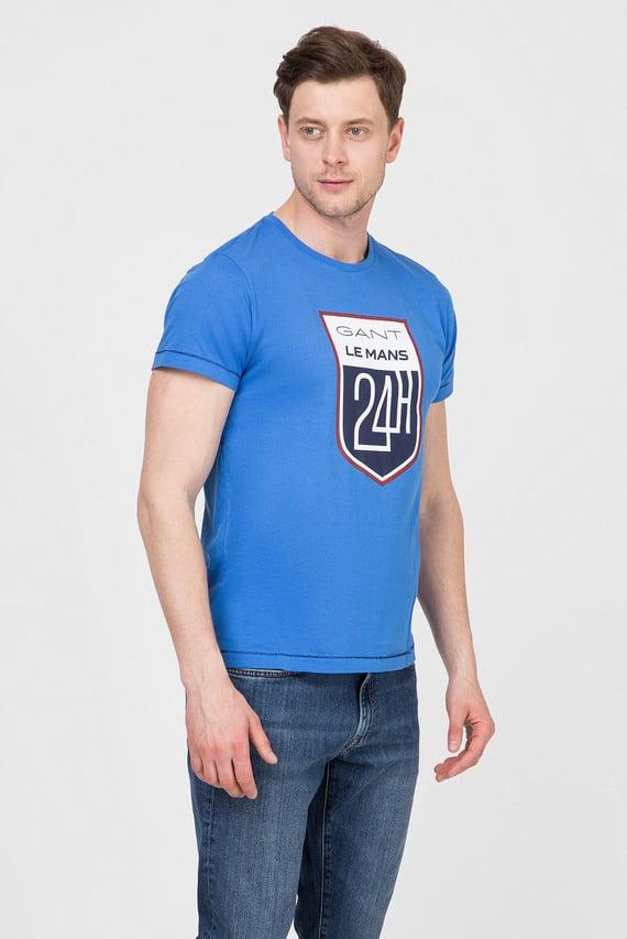Мужская голубая футболка LM