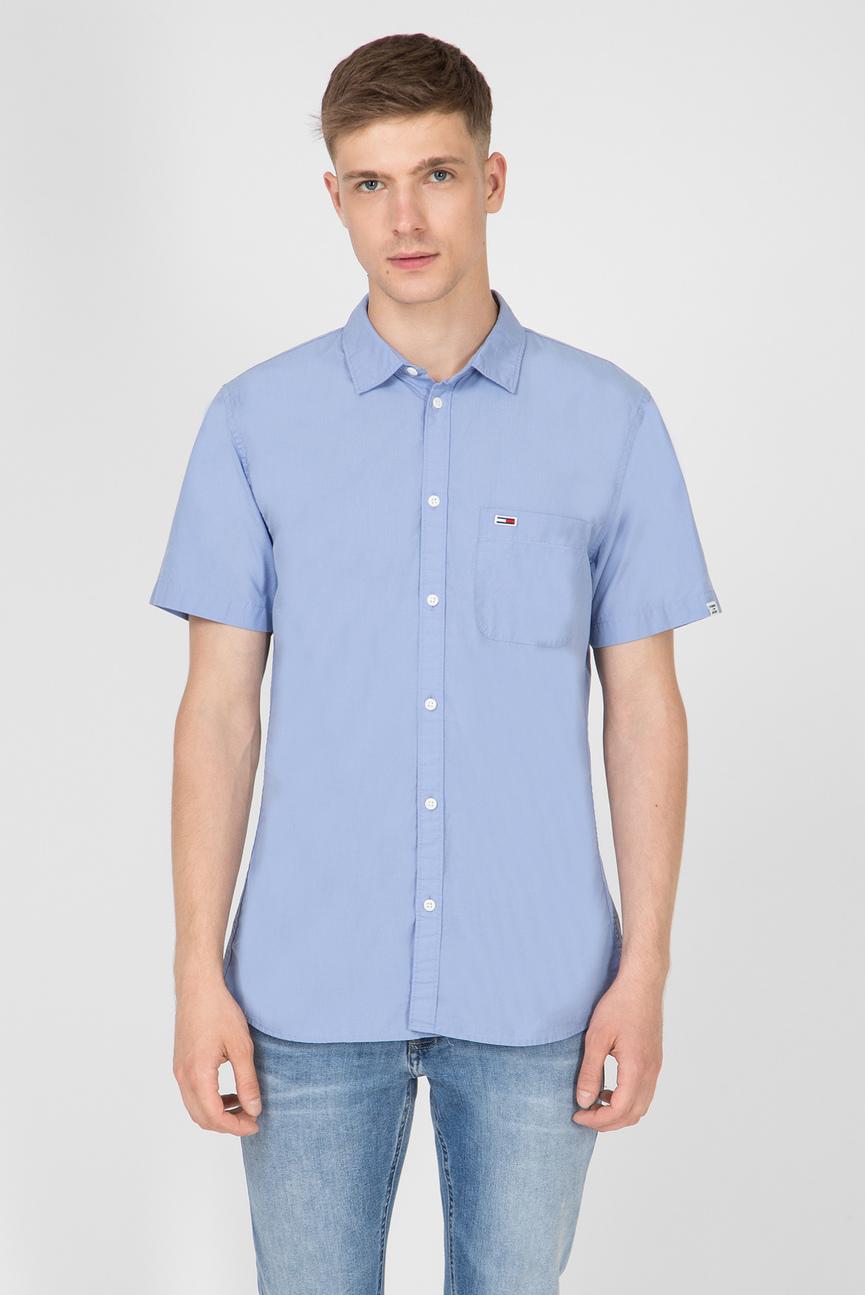 Мужская голубая рубашка TJM SOLID POPLIN