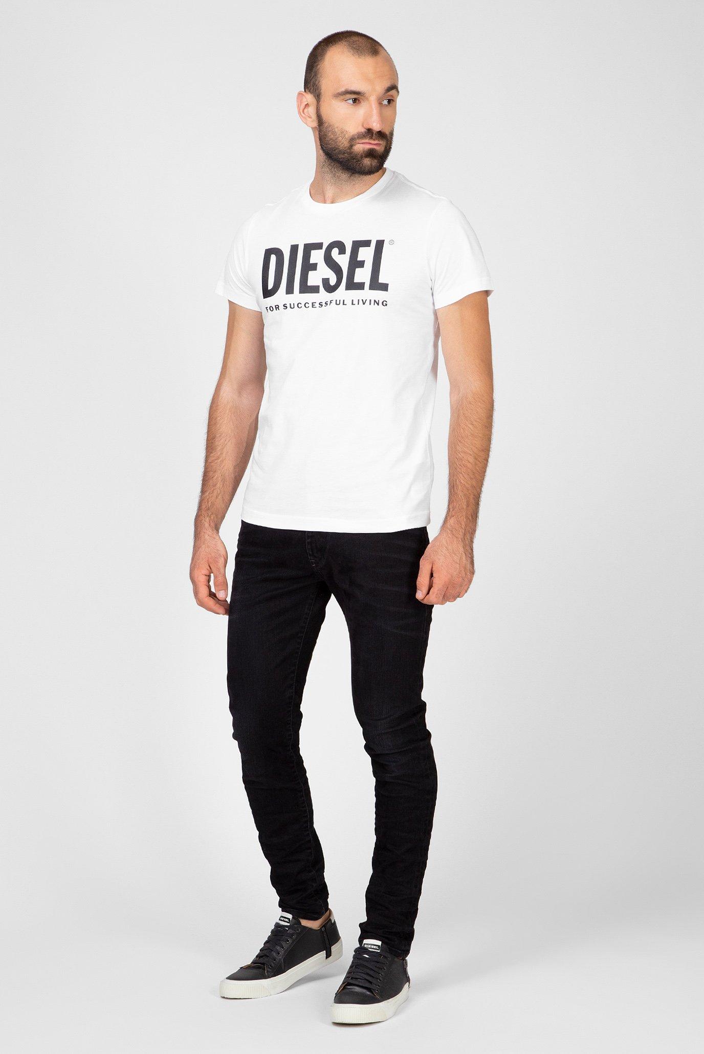 Мужские черные джинсы D-STRUKT Diesel
