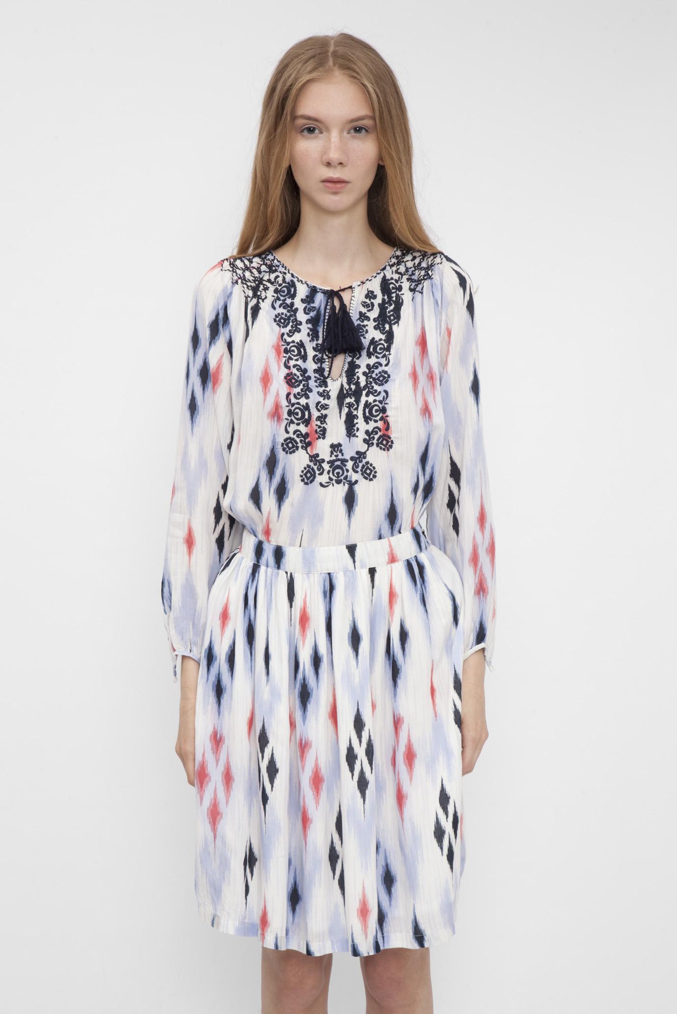 e60e738300c Купить Женское белое платье с вышивкой Pepe Jeans Pepe Jeans PL951975 – Киев