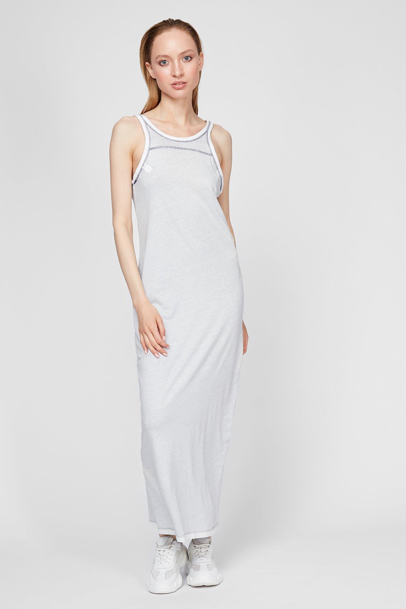 Жіноча сіра сукня Maxi tank top dress 1