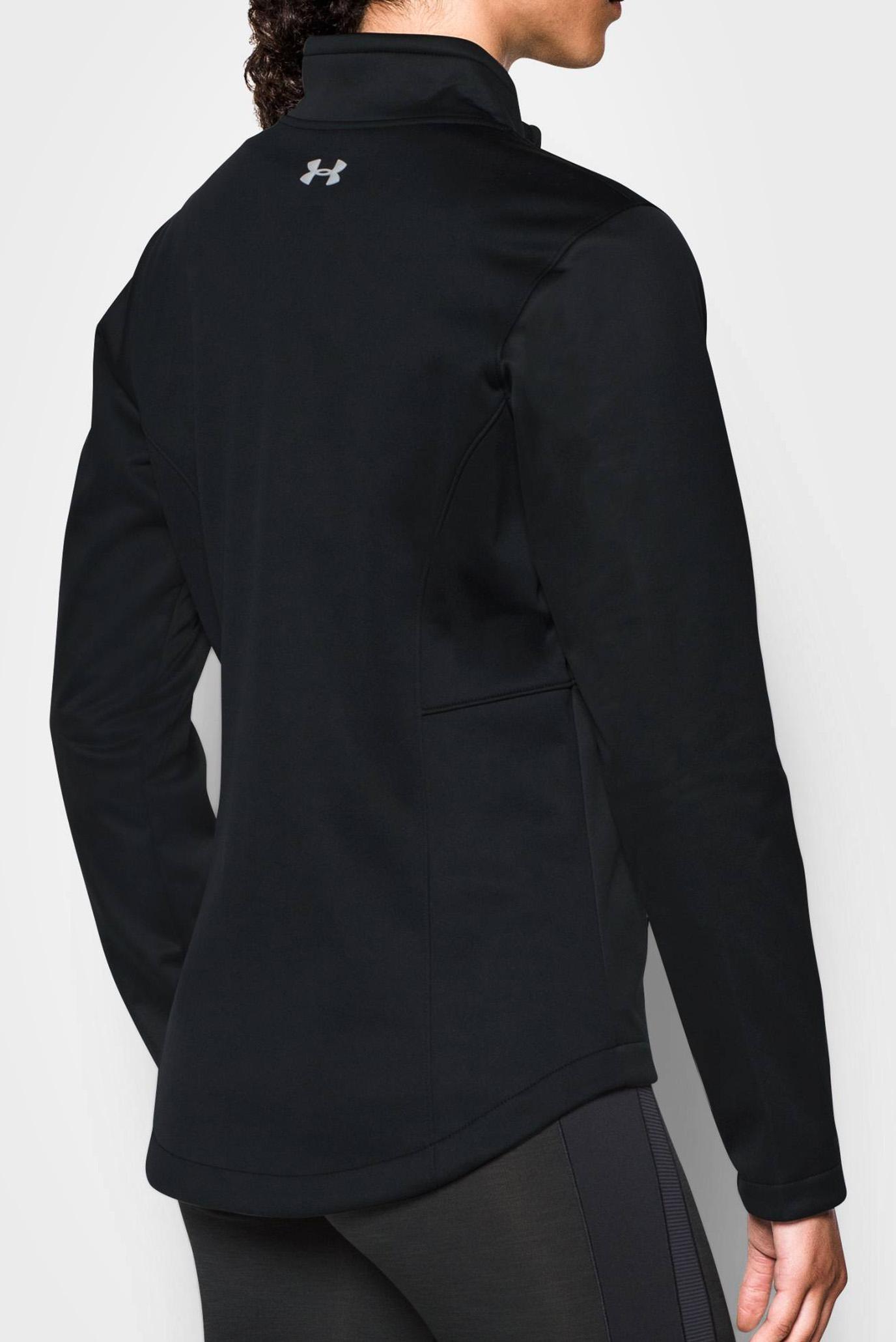 Женская черная куртка UA CGI Softershell Jacket Under Armour