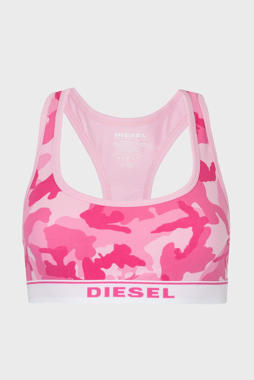 Женский розовый спортивный топ UFSB-MILEY