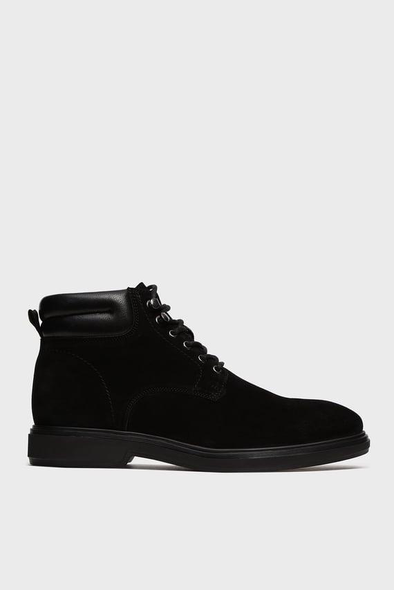 Мужские черные замшевые ботинки Essex