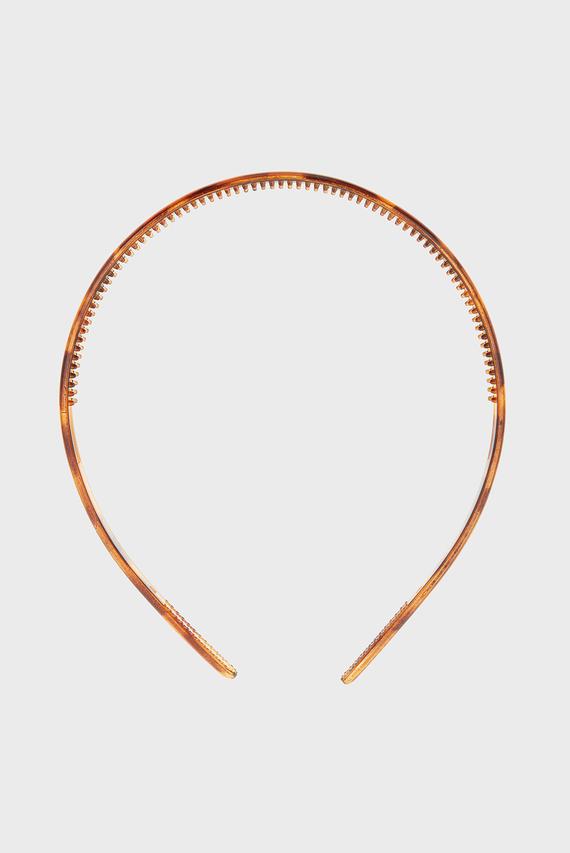 Женский коричневый обруч SLIM BASIC ALICE