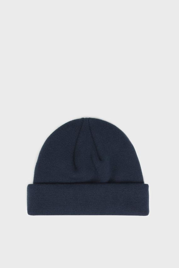 Женская синяя шапка TJW FLAG SHORT