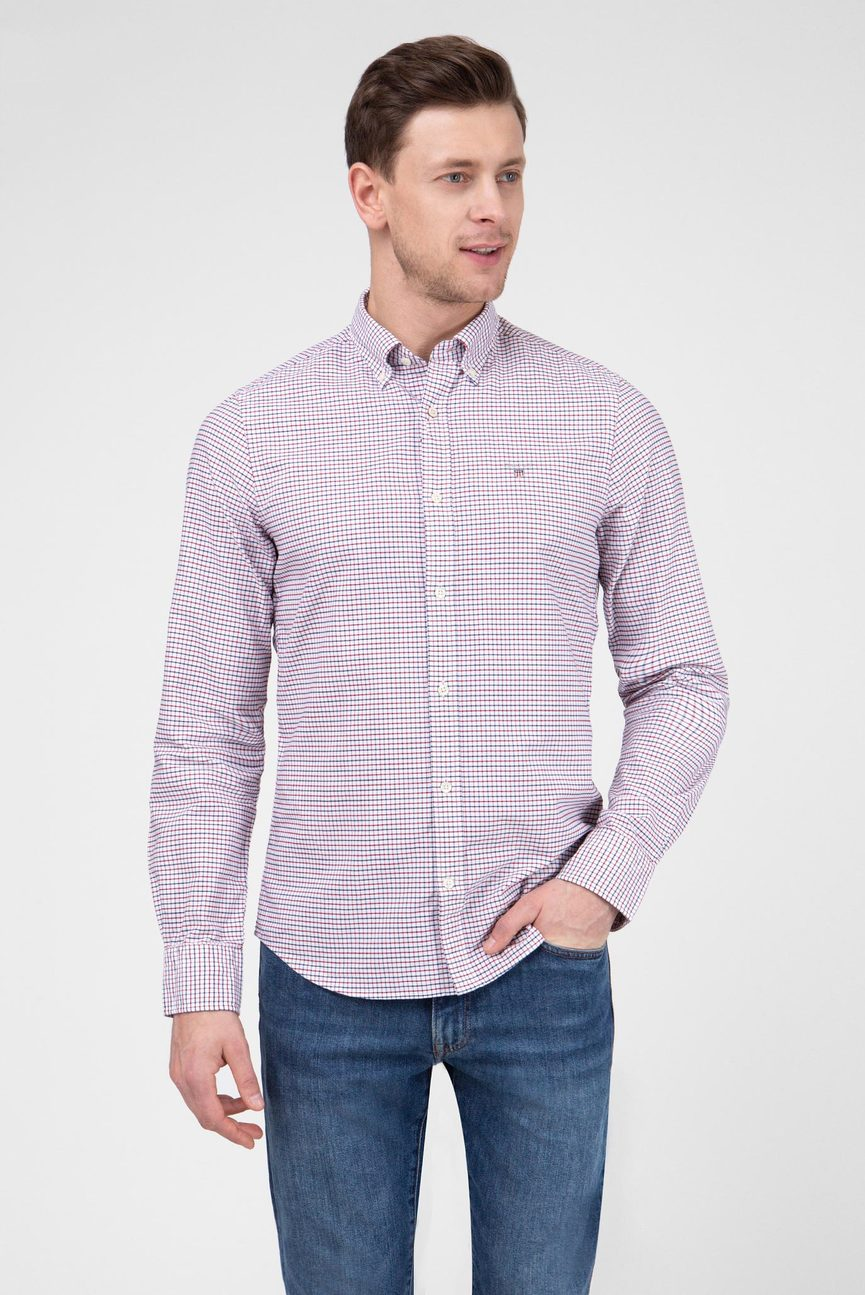 Мужская рубашка в клетку THE OXFORD