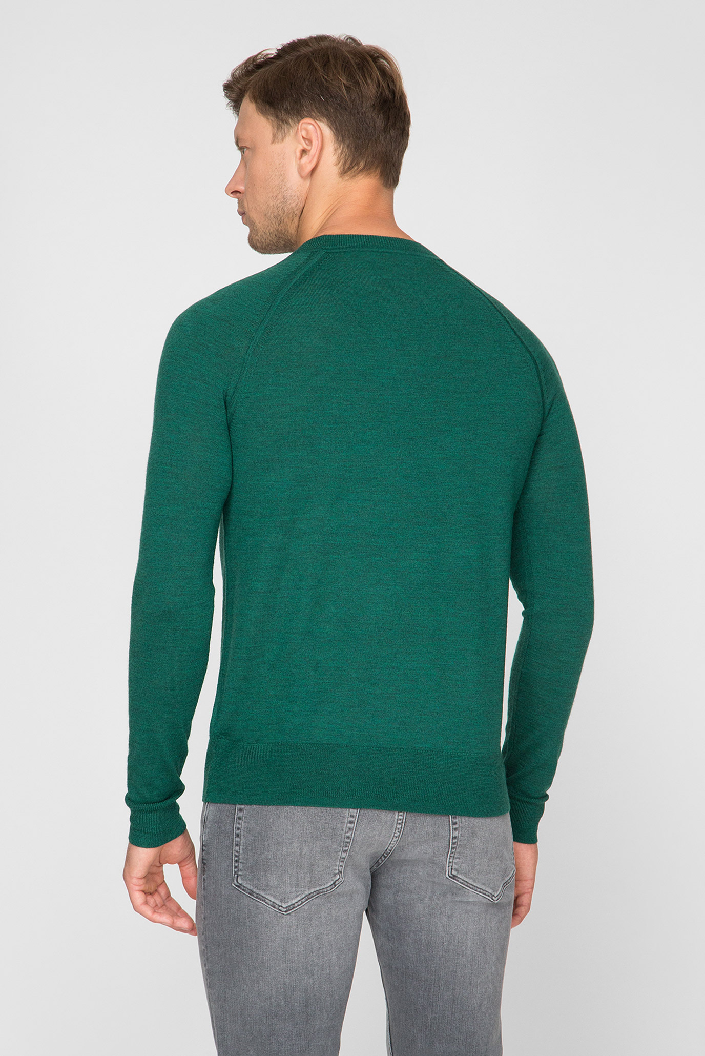 Купить Мужской зеленый джемпер Calvin Klein Calvin Klein K10K103920 – Киев, Украина. Цены в интернет магазине MD Fashion