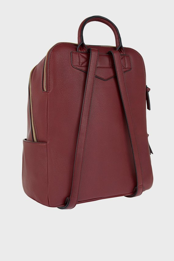 Женский бордовый рюкзак JUDY BACKPACK