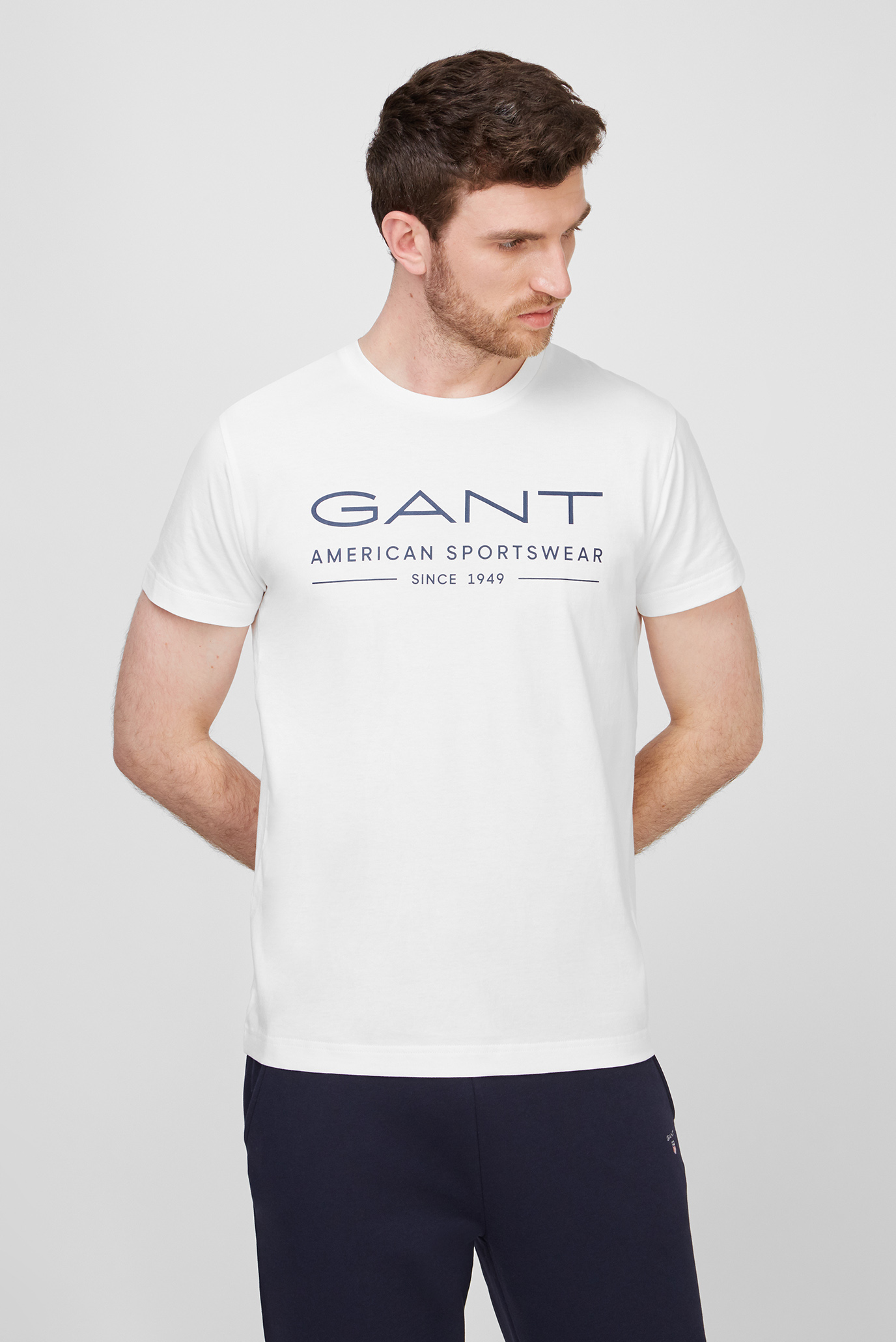 Чоловіча біла футболка SUMMER SS 1