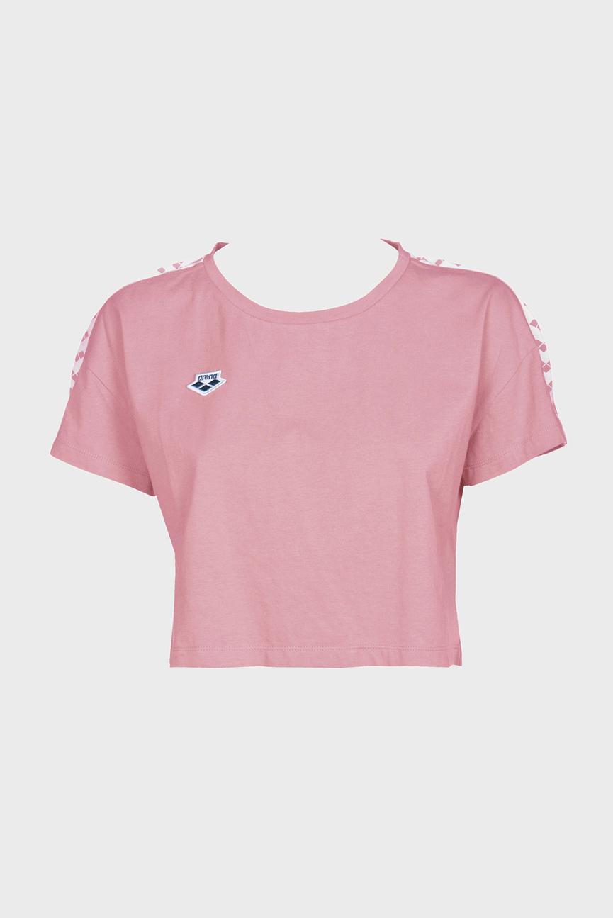 Женская розовая футболка CORINNE TEAM