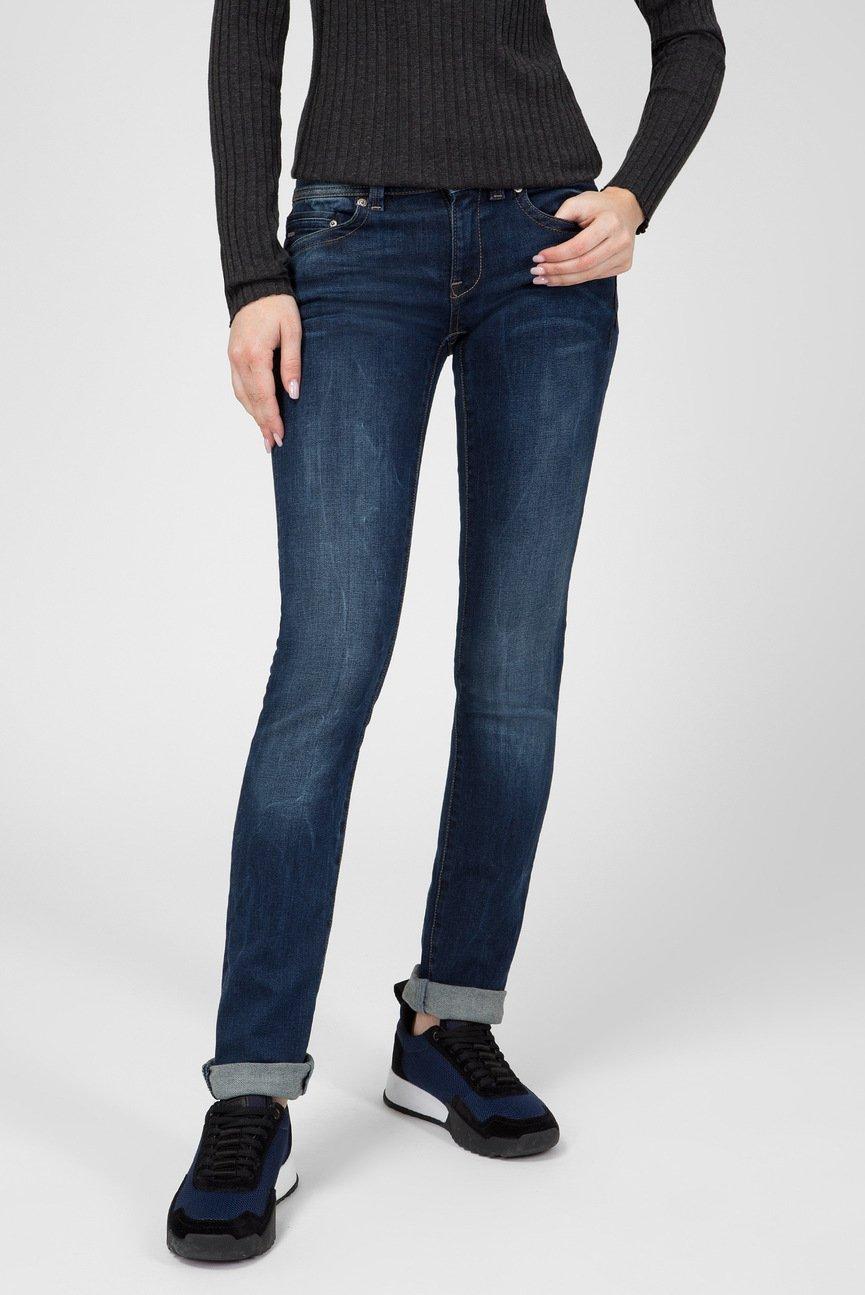 Женские темно-синие джинсы Midge Saddle Mid Straight