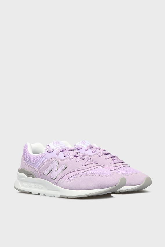 Женские фиолетовые кроссовки 997H