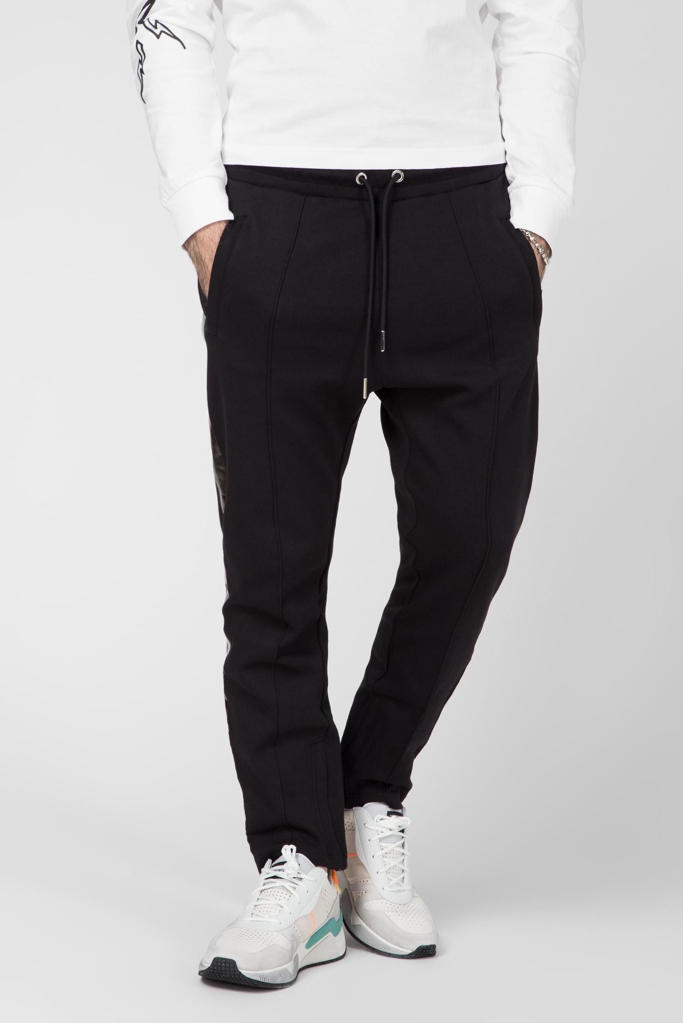 Чоловічі чорні спортивні штани P-RUSY-J 1