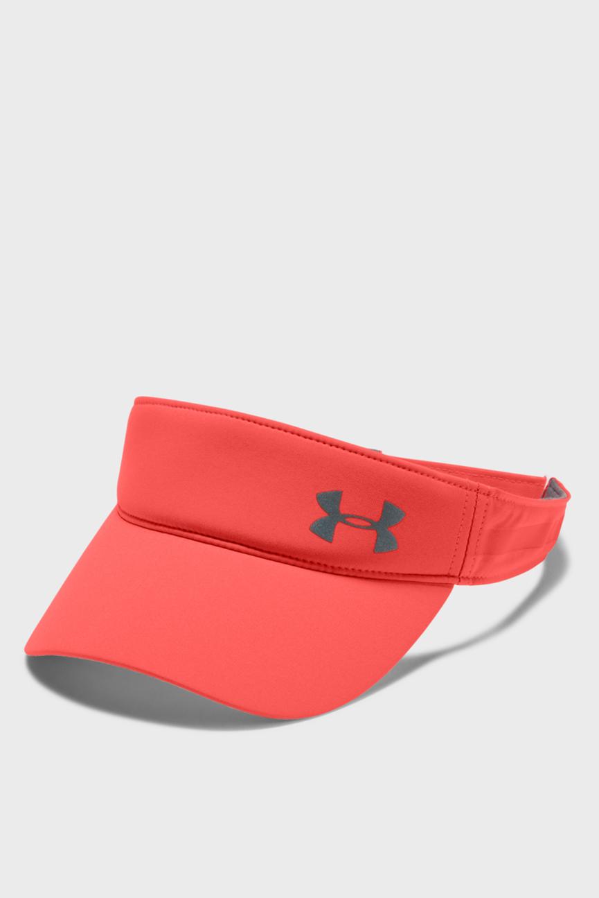 Женская красная кепка UA Fly By Visor