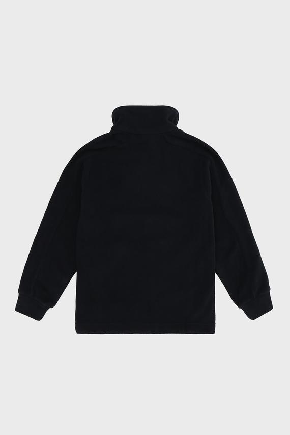 Детская черная спортивная кофта