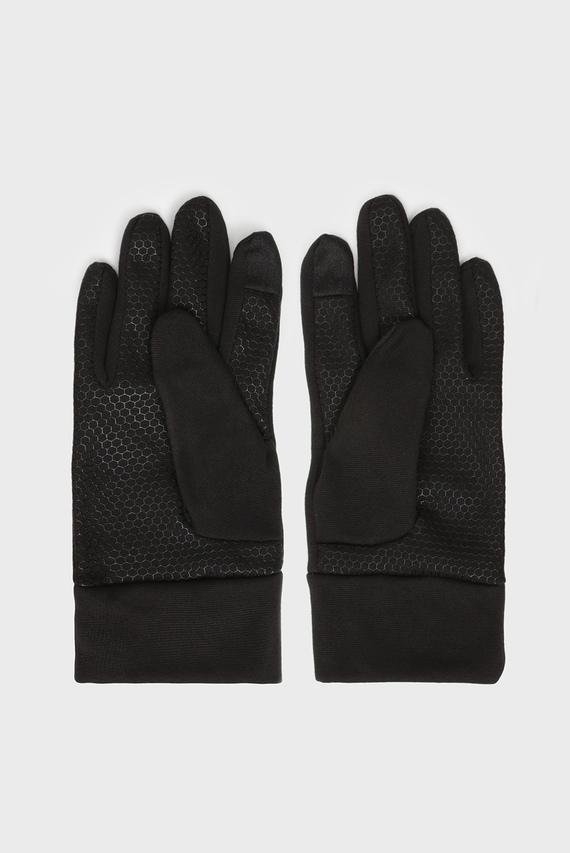 Мужские черные перчатки