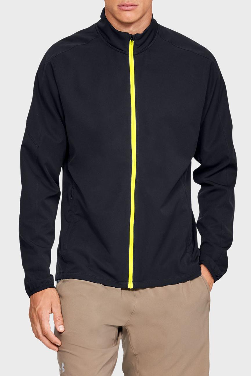 Мужская черная куртка UA STORM