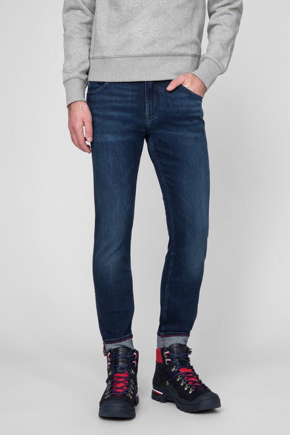 Мужские синие джинсы SLIM BLEECKER STR