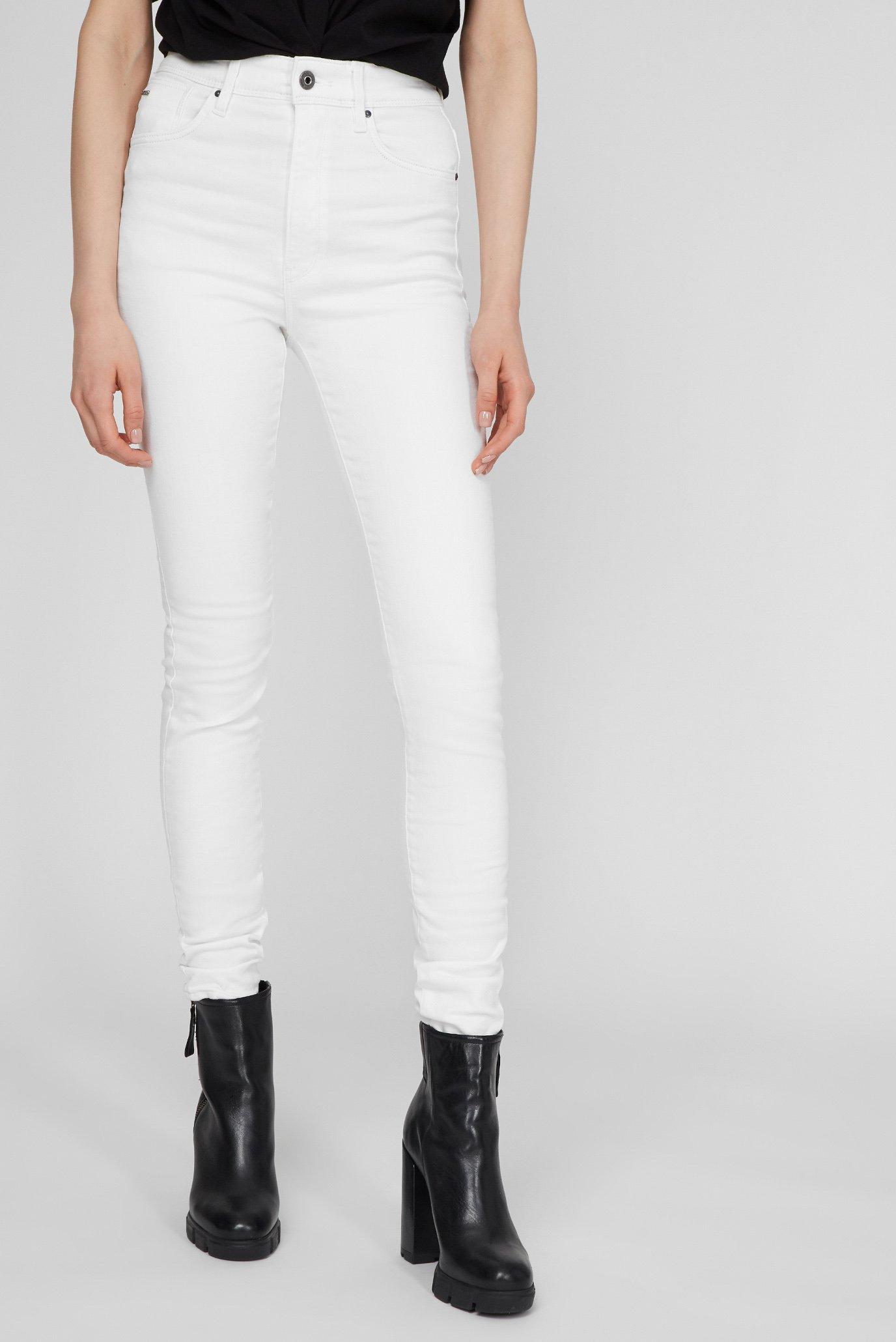 Женские белые джинсы Kafey Ultra High Skinny 1
