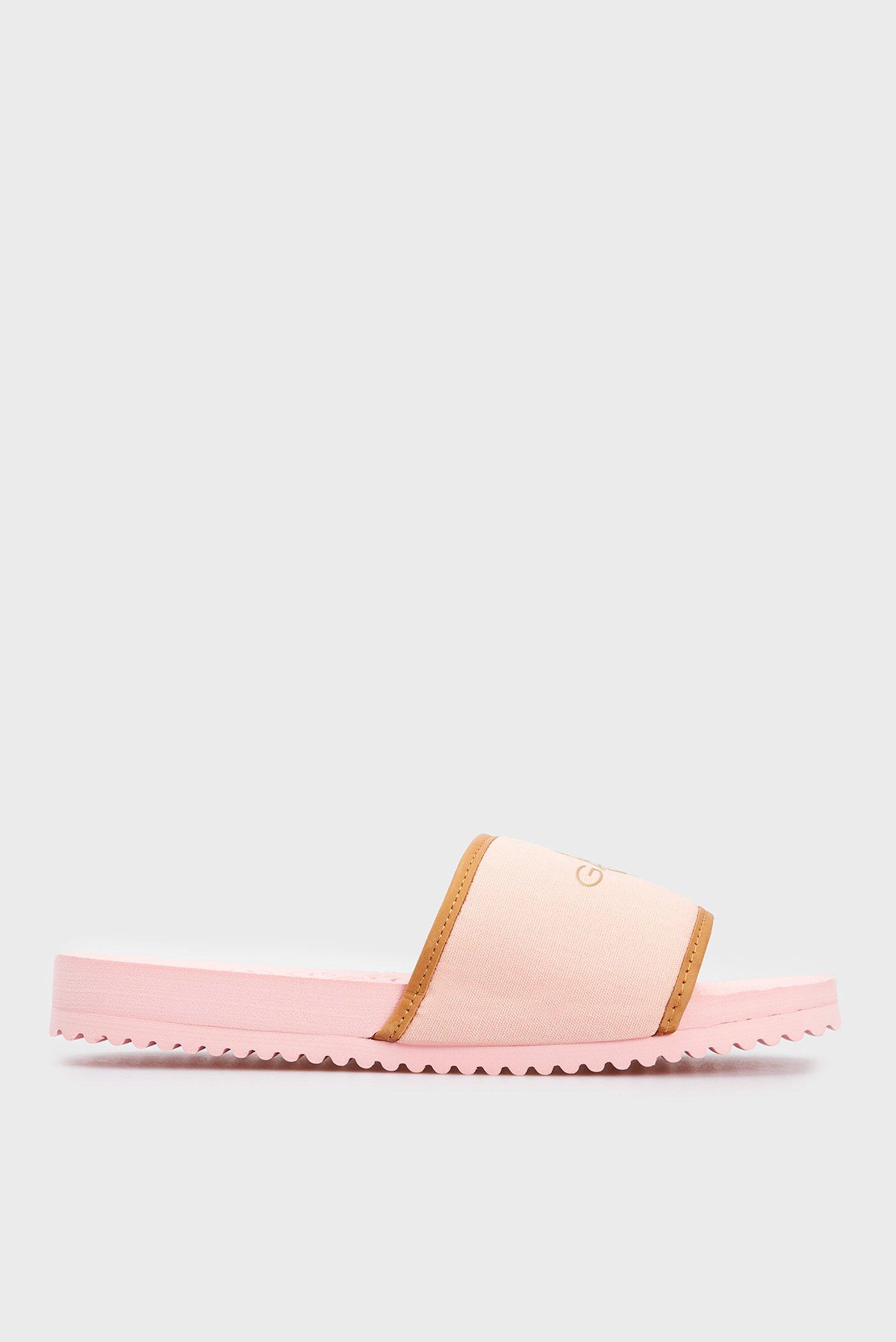 Жіночі рожеві слайдери 1