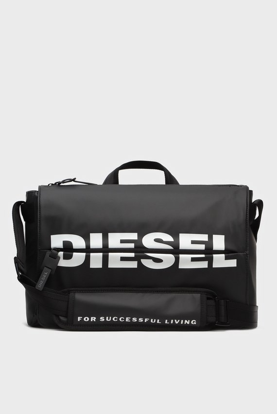 Мужская черная сумка для ноутбука BOLDMESSAGE / F-BOLD MESSENGER II