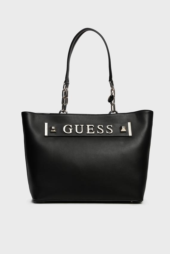 Женская черная сумка на плечо KERRIGAN TOTE