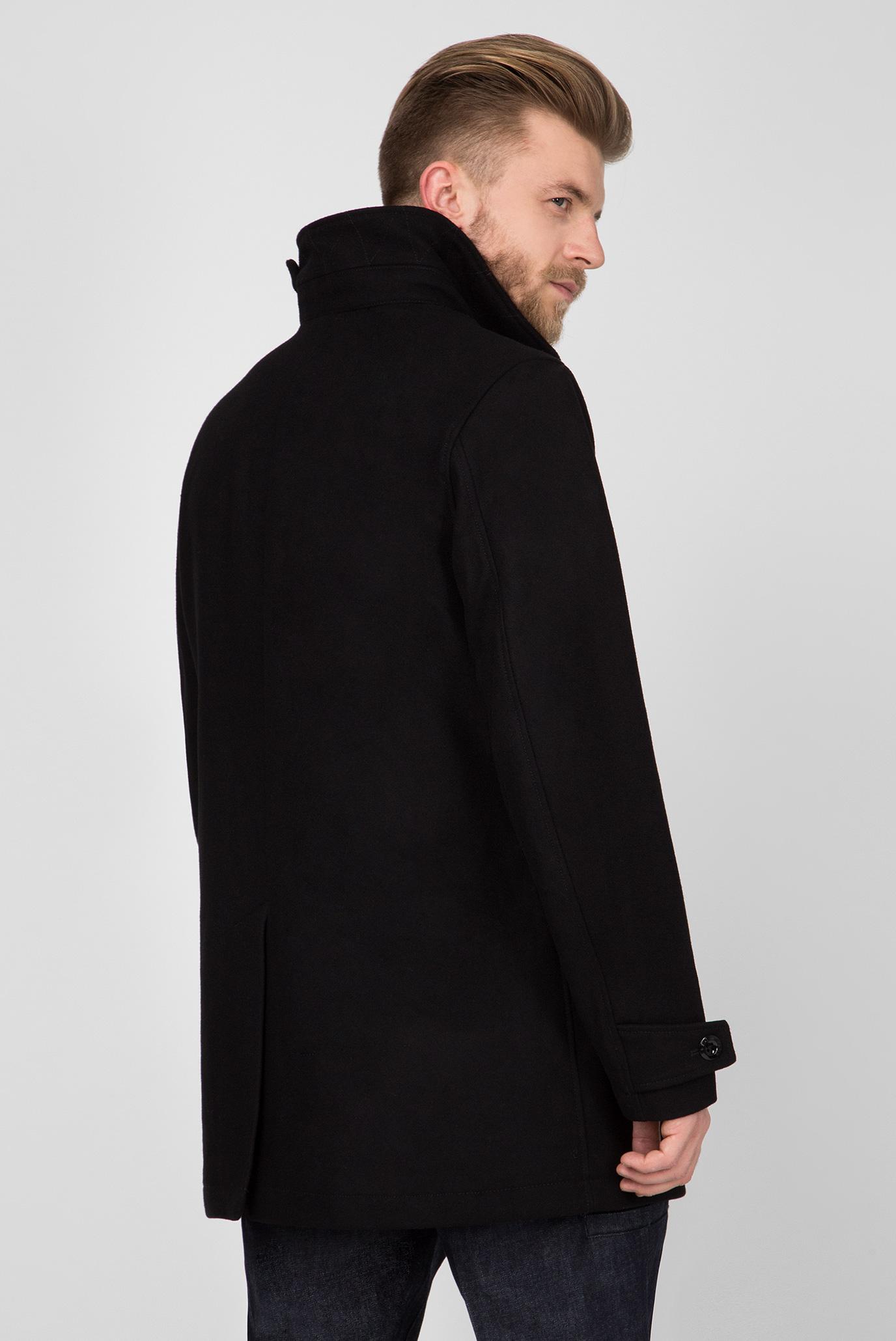 Купить Мужское черное пальто Garber G-Star RAW G-Star RAW D10295,9168 – Киев, Украина. Цены в интернет магазине MD Fashion