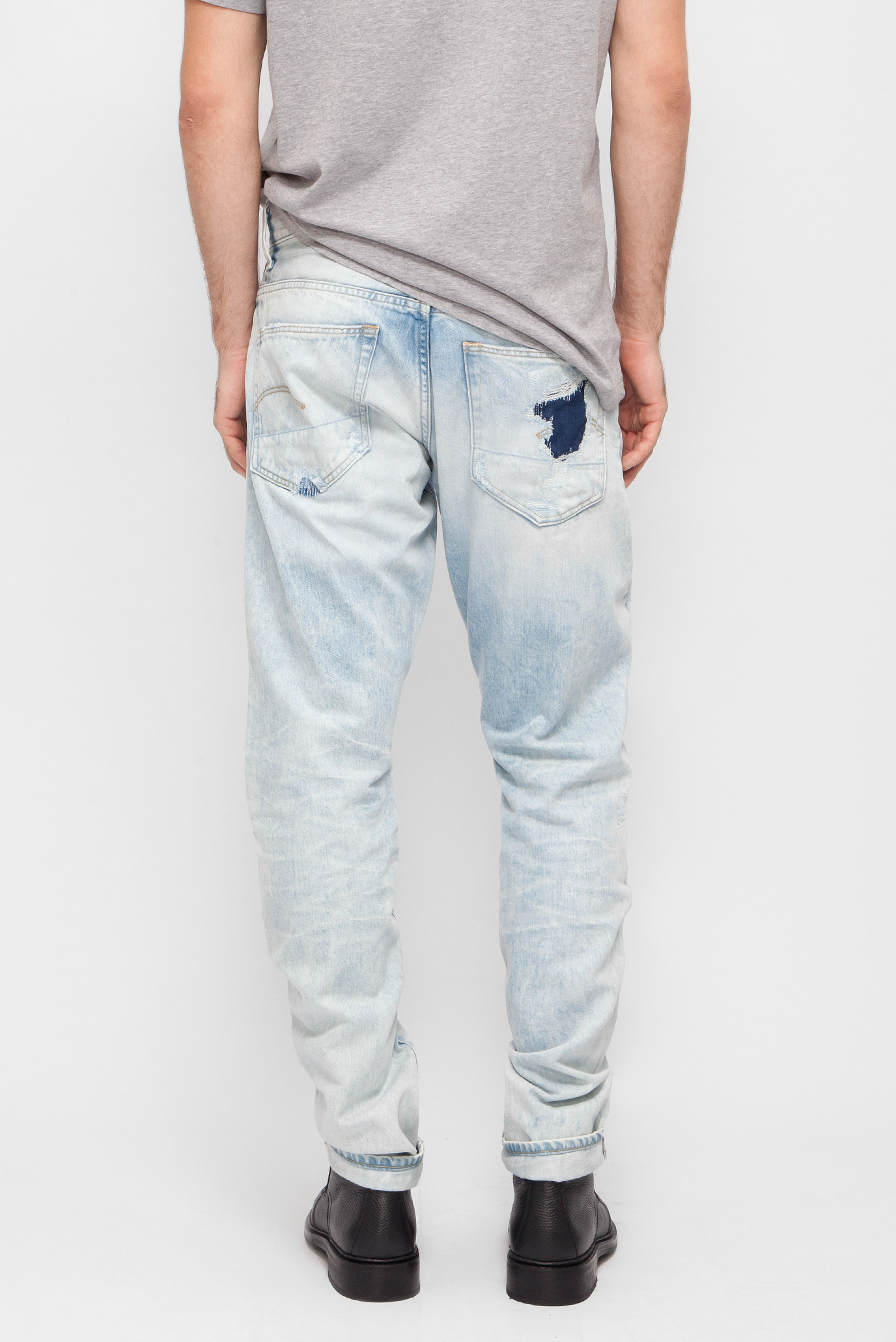 Купить Мужские голубые джинсы Tapered G-Star RAW G-Star RAW 51003,7595 – Киев, Украина. Цены в интернет магазине MD Fashion