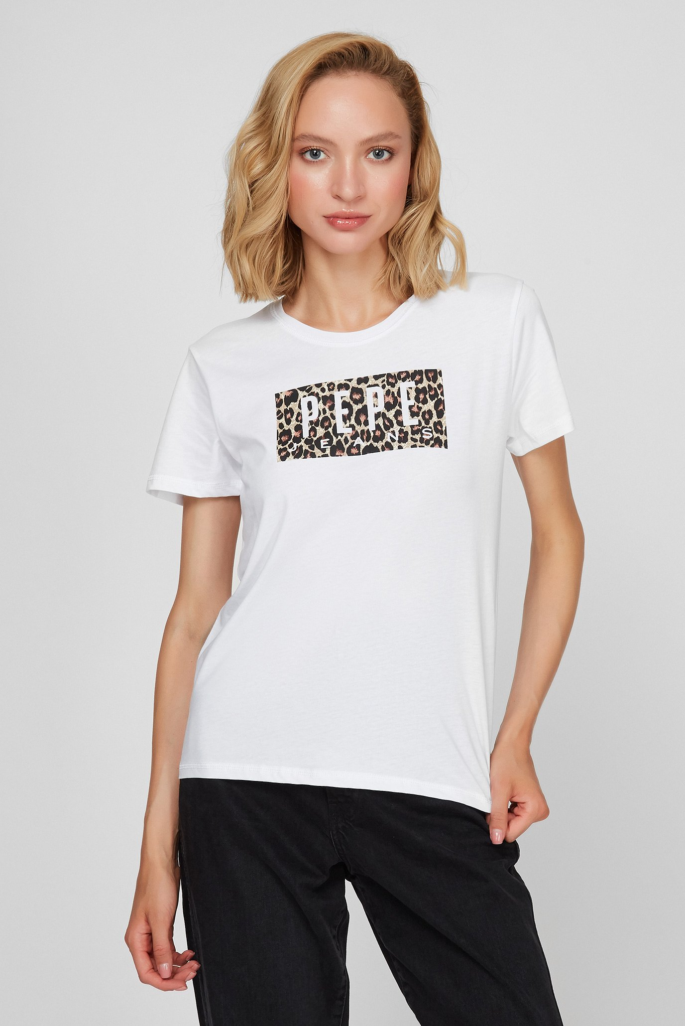 Женская белая футболка CRISTINAS 1