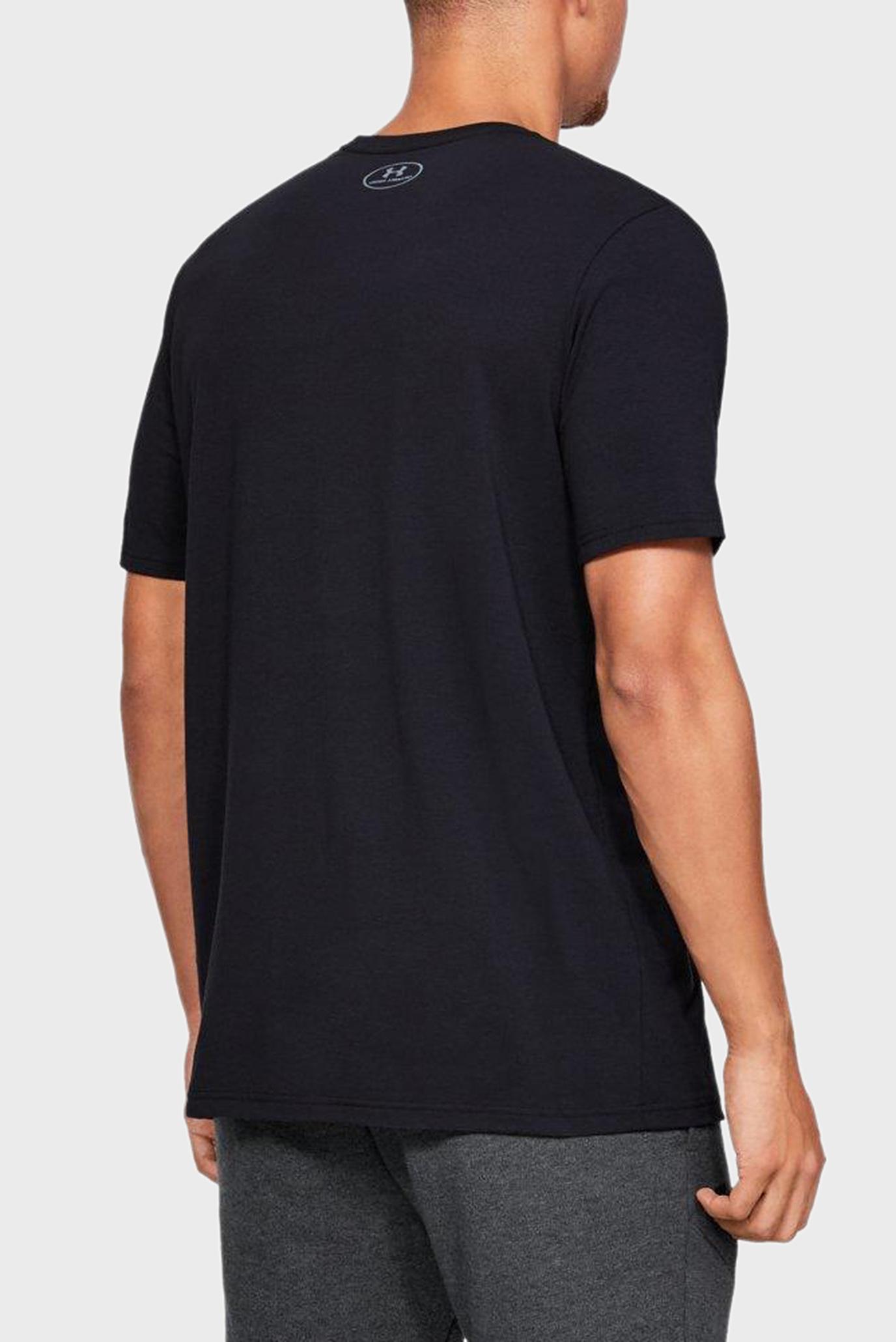 Купить Мужская черная футболка PROJECT ROCK GET TO WORK Under Armour Under Armour 1345574-001 – Киев, Украина. Цены в интернет магазине MD Fashion
