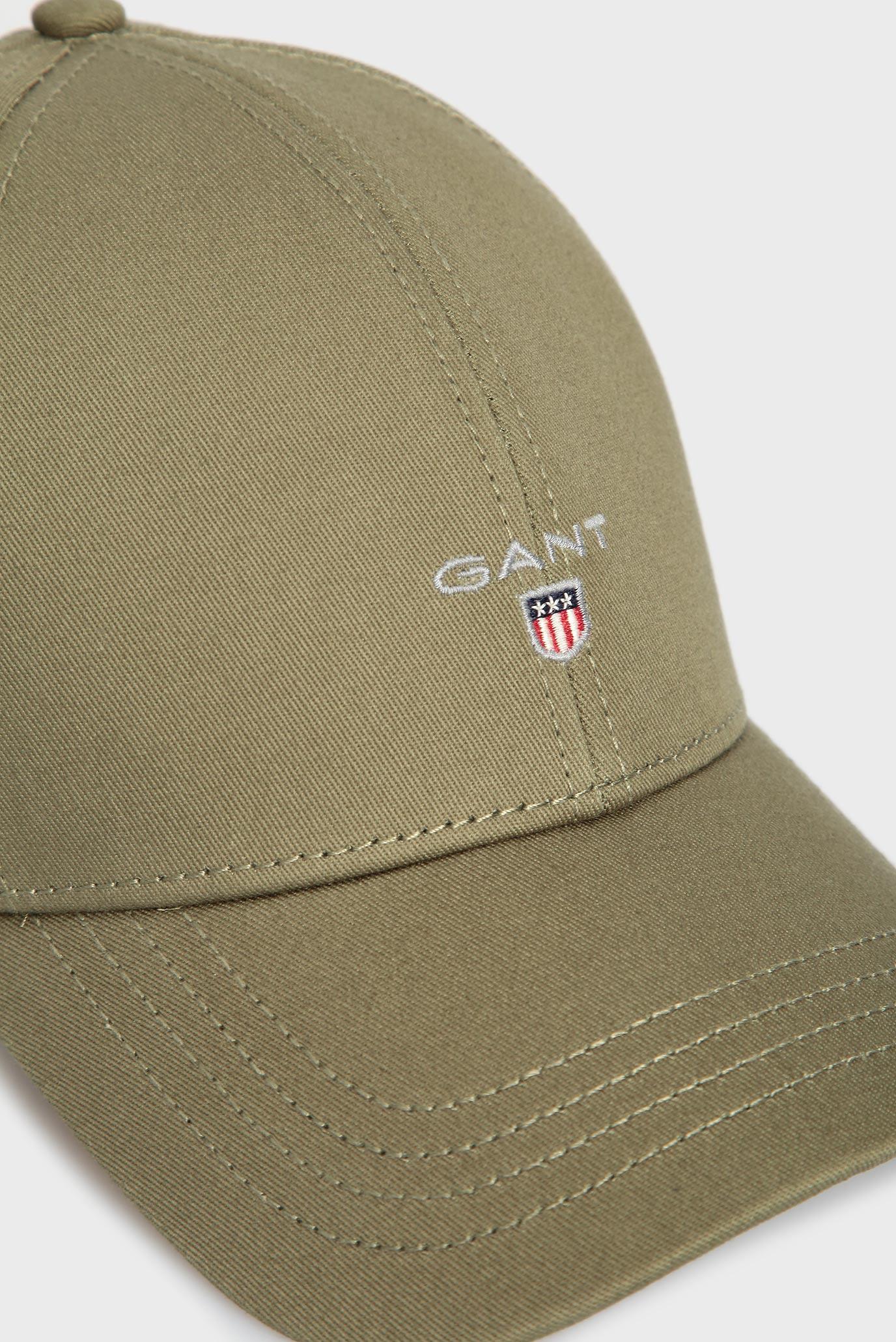 Мужская зеленая кепка NEW TWILL Gant