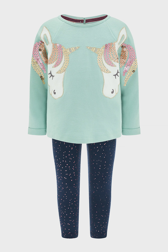 Набор детской одежды (свитшот, леггинсы) BABY UNICORN SWEAT