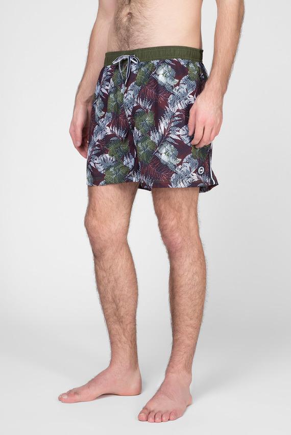 Мужские зеленые плавательные шорты