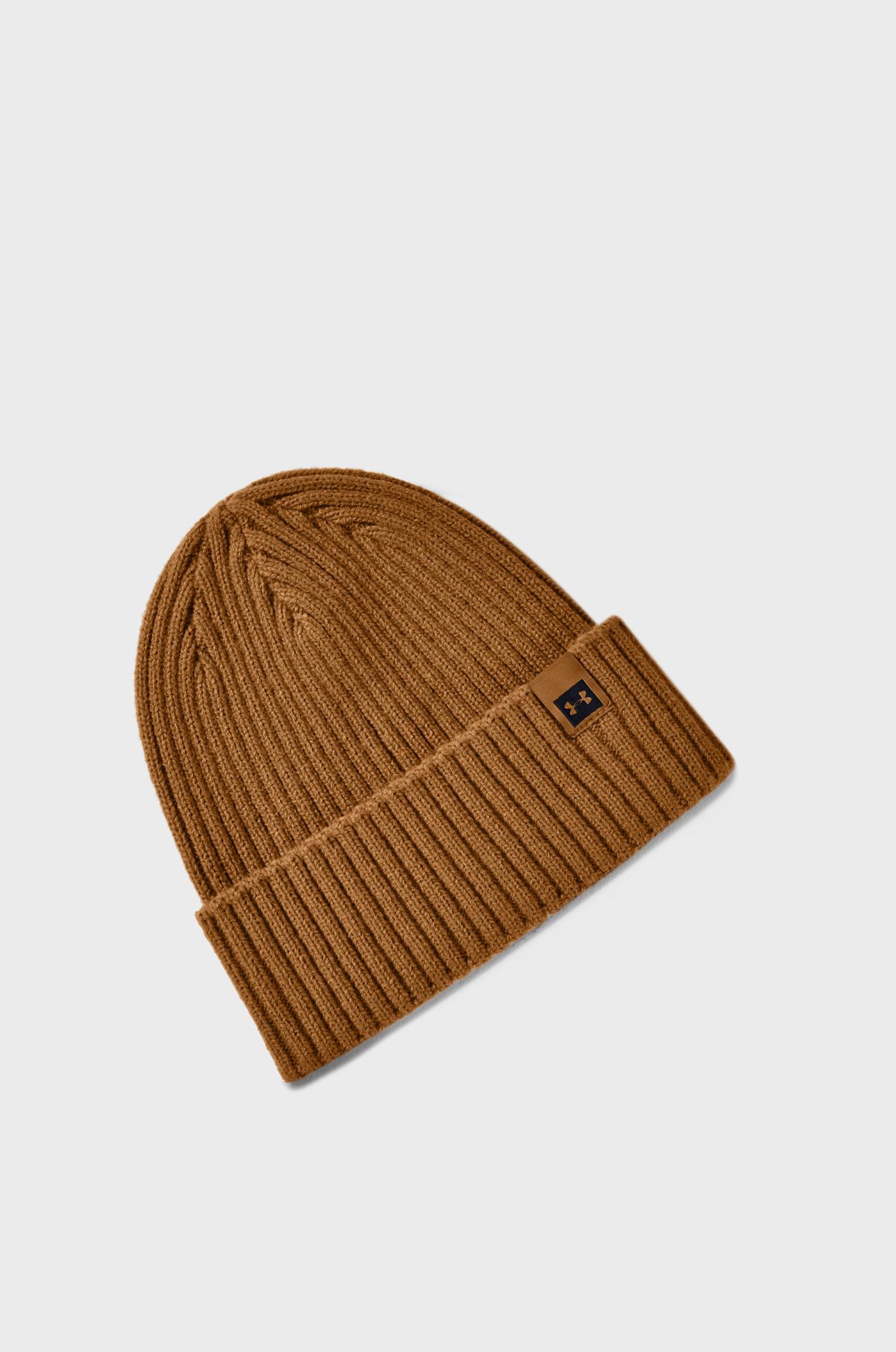 Мужская коричневая шапка UA Truckstop Pro Beanie Under Armour