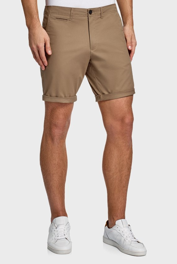 Мужские коричневые шорты