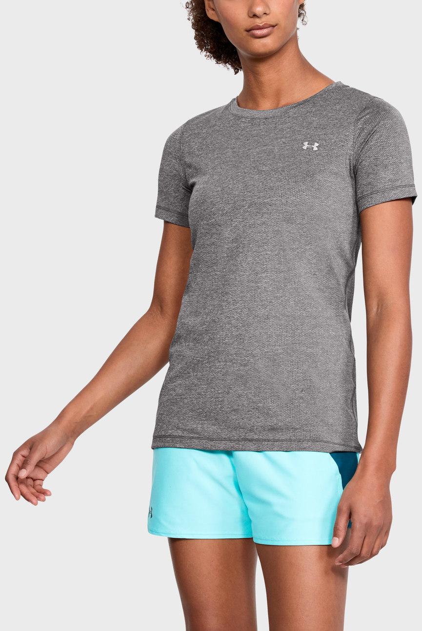 Женская серая футболка Armour