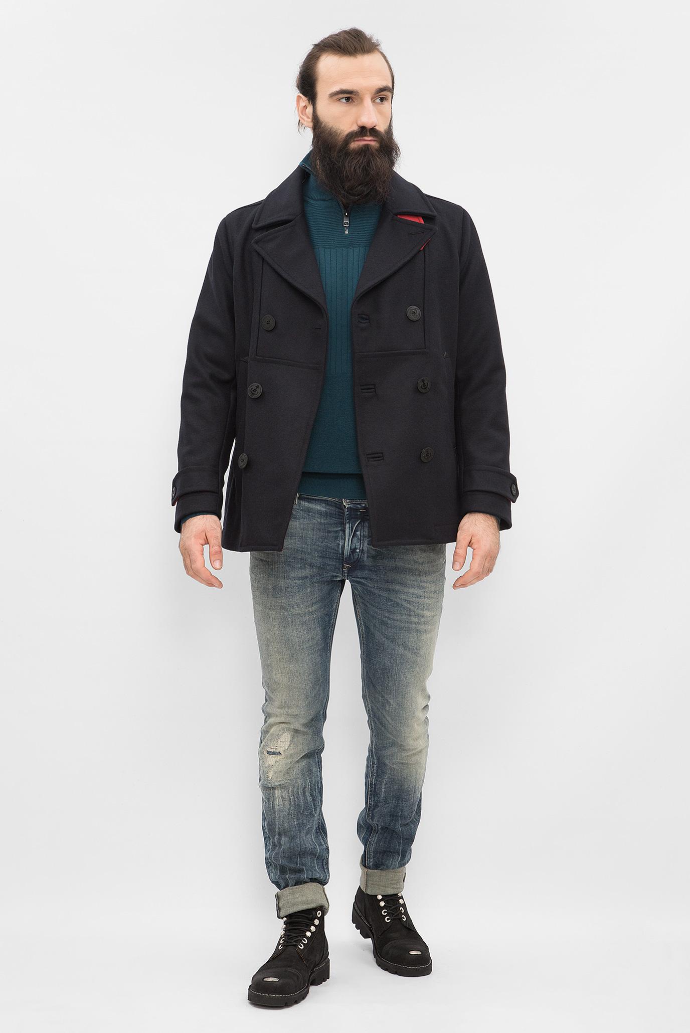 Купить Мужское синее пальто Diesel Diesel 00S13E 0SAJB – Киев, Украина. Цены в интернет магазине MD Fashion