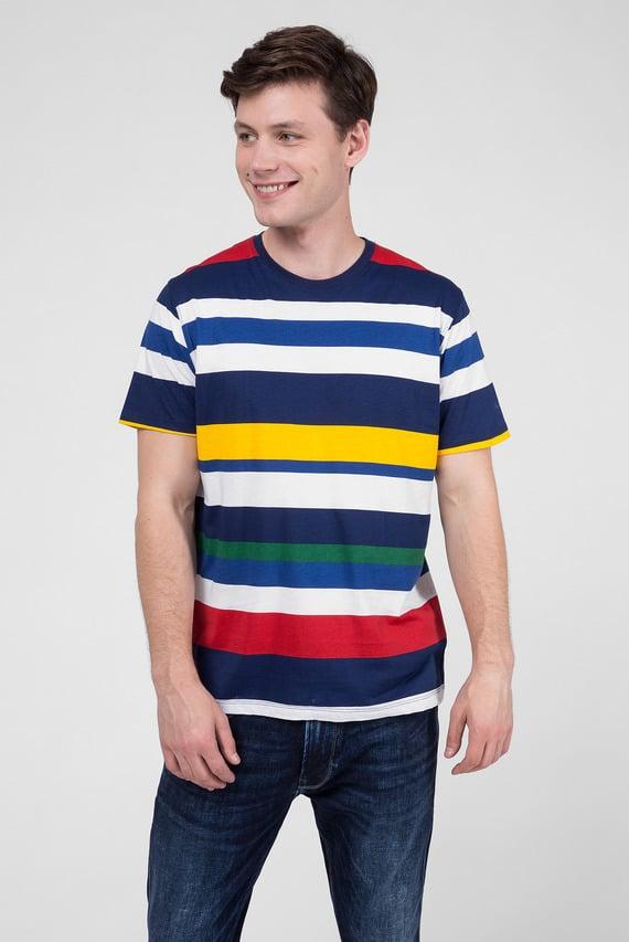 Мужская футболка в полоску DORIEN