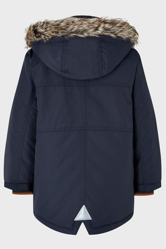 Детская синяя куртка BENJAMIN PARKA
